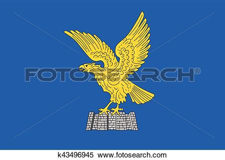 Clipart of Flag of Friuli.