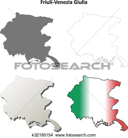 Clipart of Friuli.