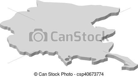 Vectors Illustration of Map.