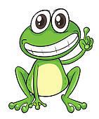 Royalty Free Frog Tongue Clip Art.