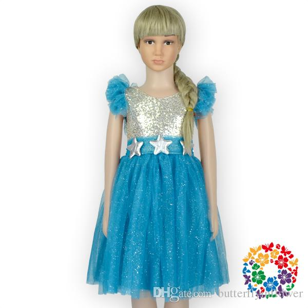 02 Newest Turquoise Girls Frock Dress Designs 1.