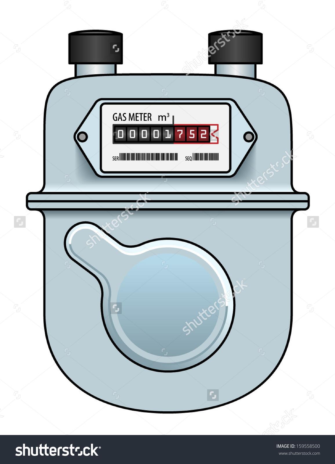 Natural Gas Meter Stock Illustrations & Cartoons.