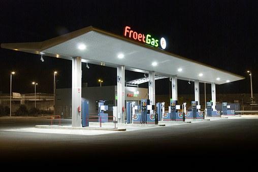 Gas, Station.