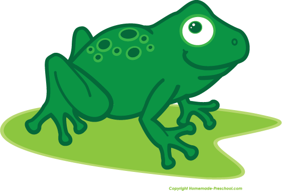 Free Frog Clipart.