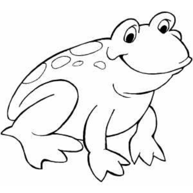 Free Black And White Frog, Download Free Clip Art, Free Clip Art on.