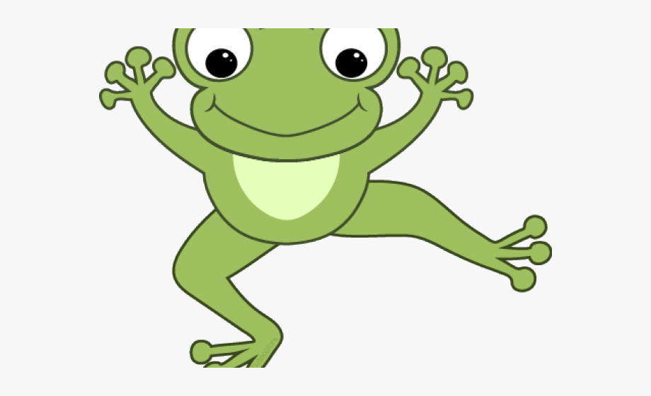 Green Frog Clipart Fat Frog.