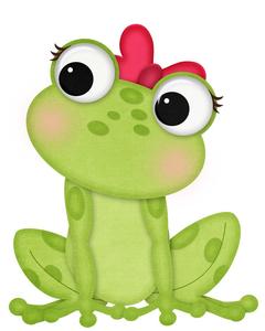 Frog Clipart For Teachers.