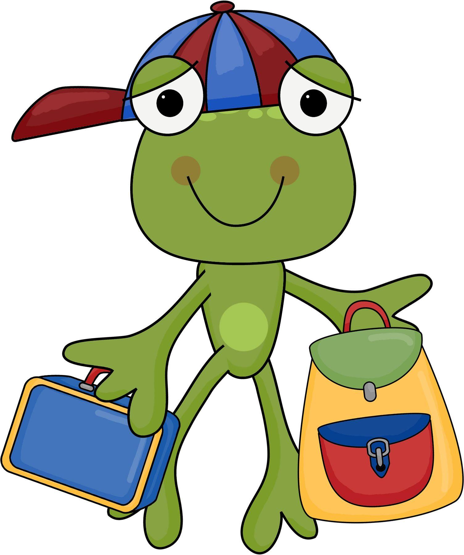 Frogs School Clipart School Days Free Frog.