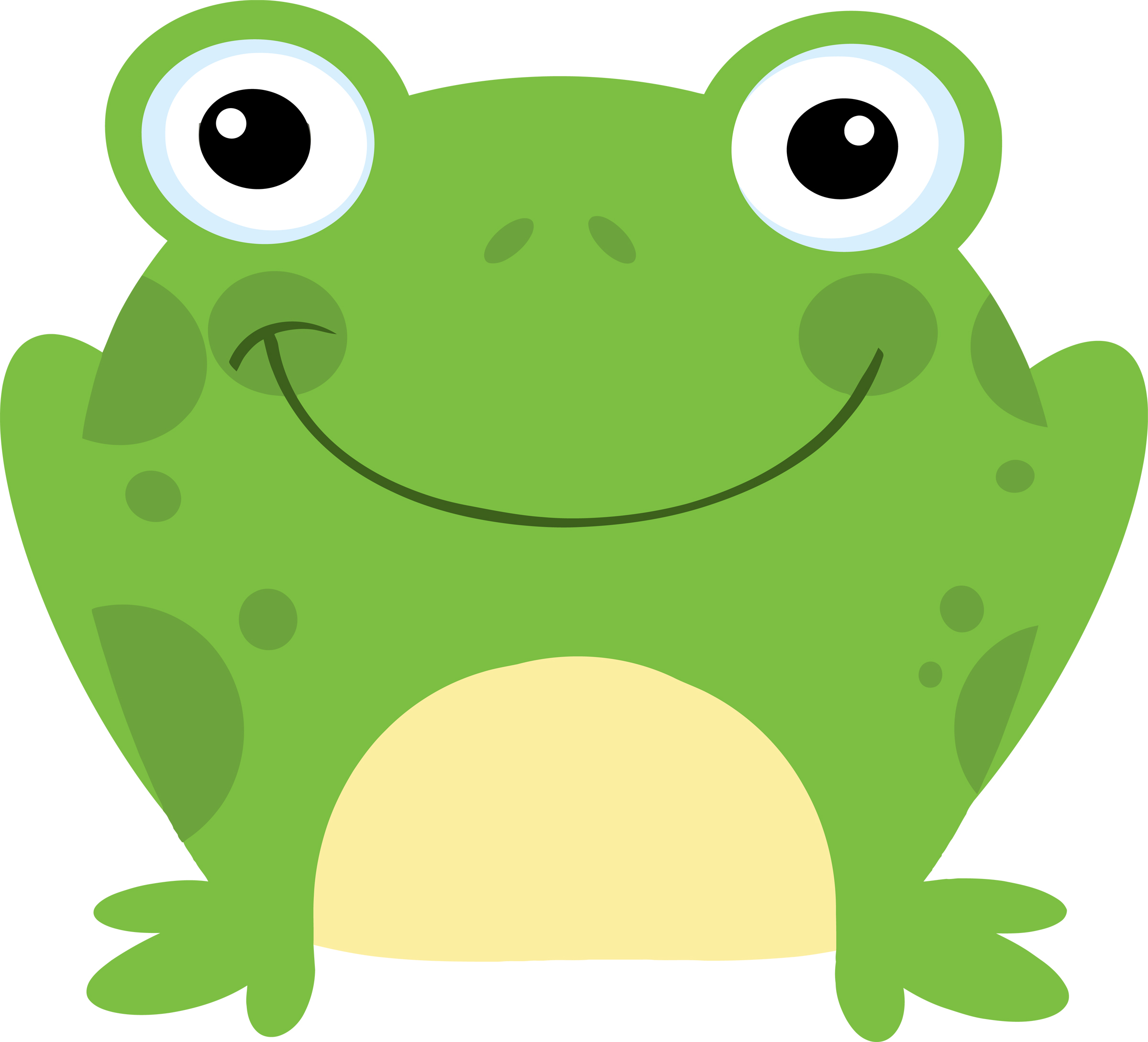 Free frog clipart clip art pictures graphics illustrations.