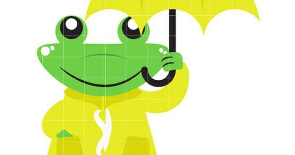 Rain Day Frog.