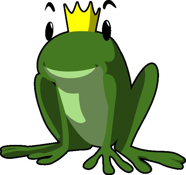 Prince Frog Clip Art at Clker.com.