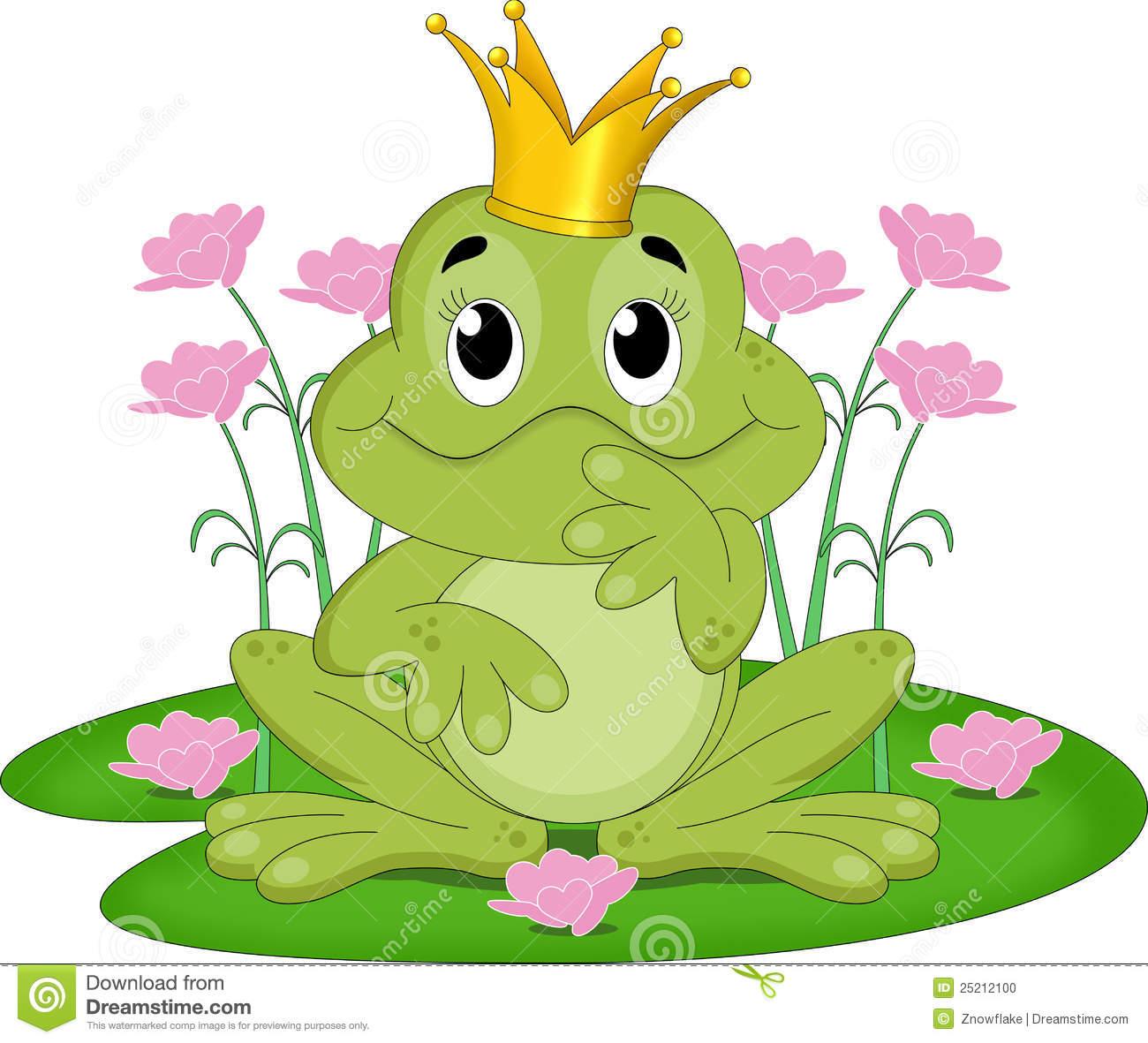 Frog King Stock Illustrations.