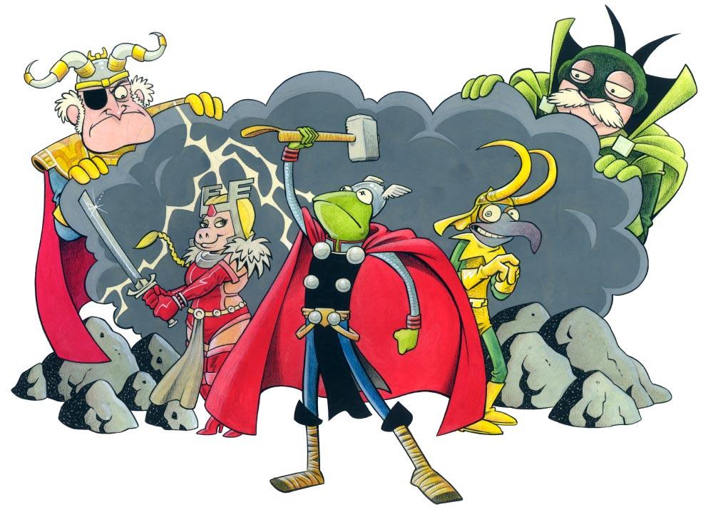 Kermit the Frog Comics.
