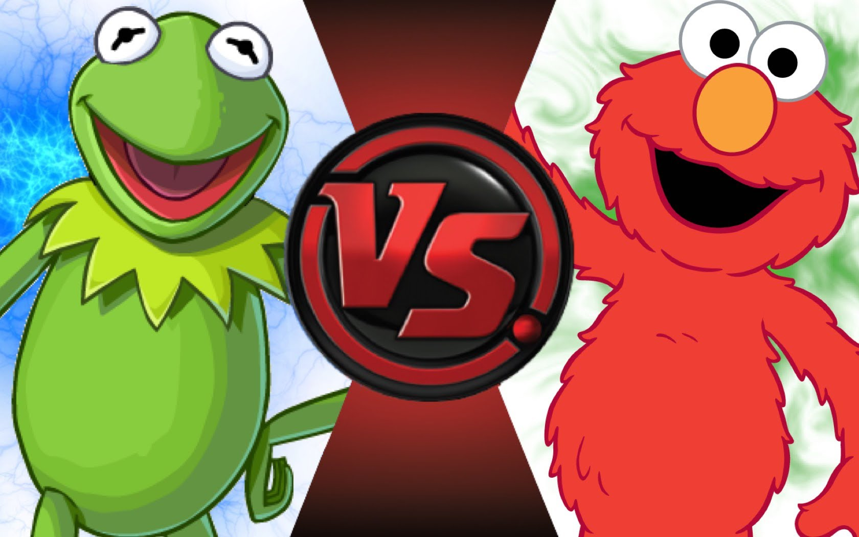 KERMIT vs ELMO! Cartoon Fight Club Episode 45.
