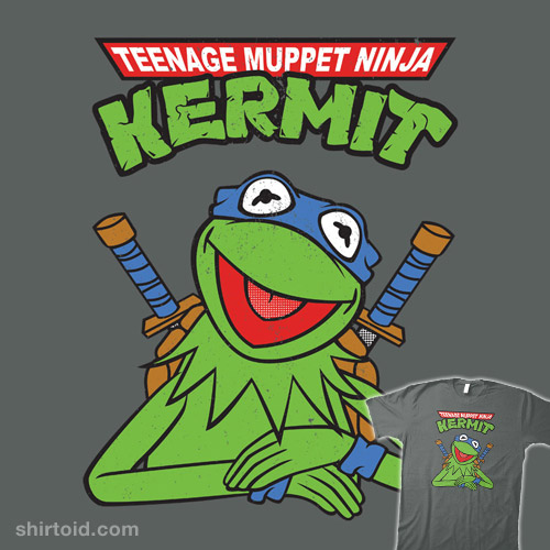 Teenage Muppet Ninja Kermit.