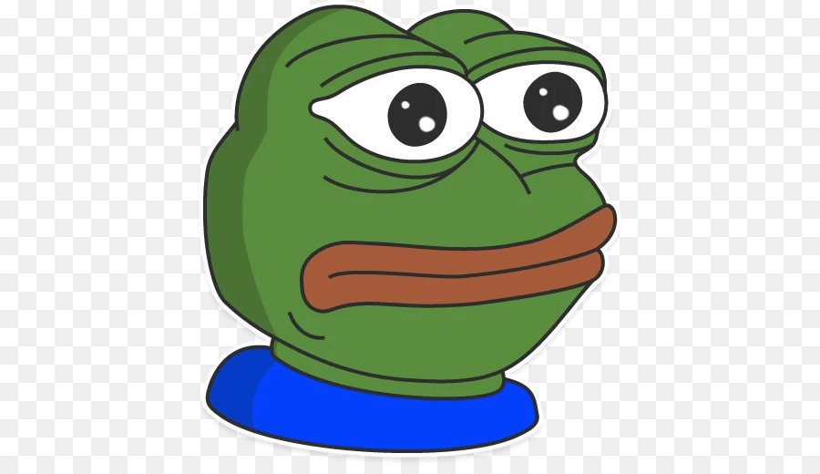 Clip art Pepe the Frog GIF.