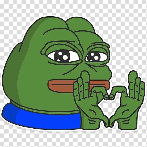 Pepe the Frog Internet meme , frog transparent background.