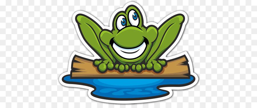 Frog Cartoon clipart.