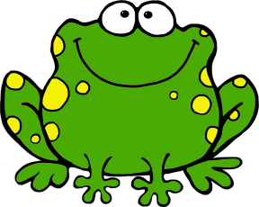 Ugly Frog Clipart.