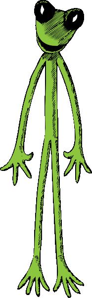 Skinny Frog Clip Art at Clker.com.