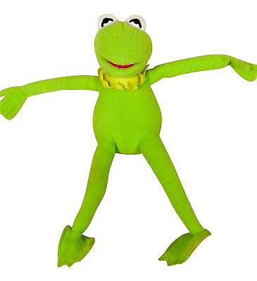 Disney Kermit The frog Plush Stuffed Animal Muppets Med size.