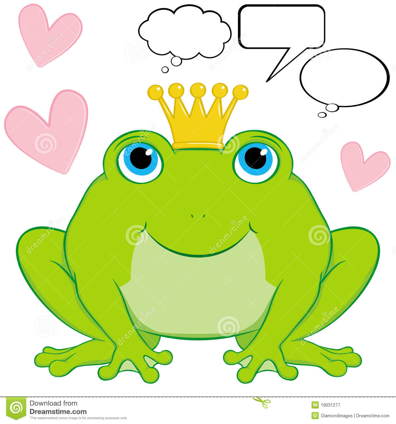 Frog Prince Clipart.