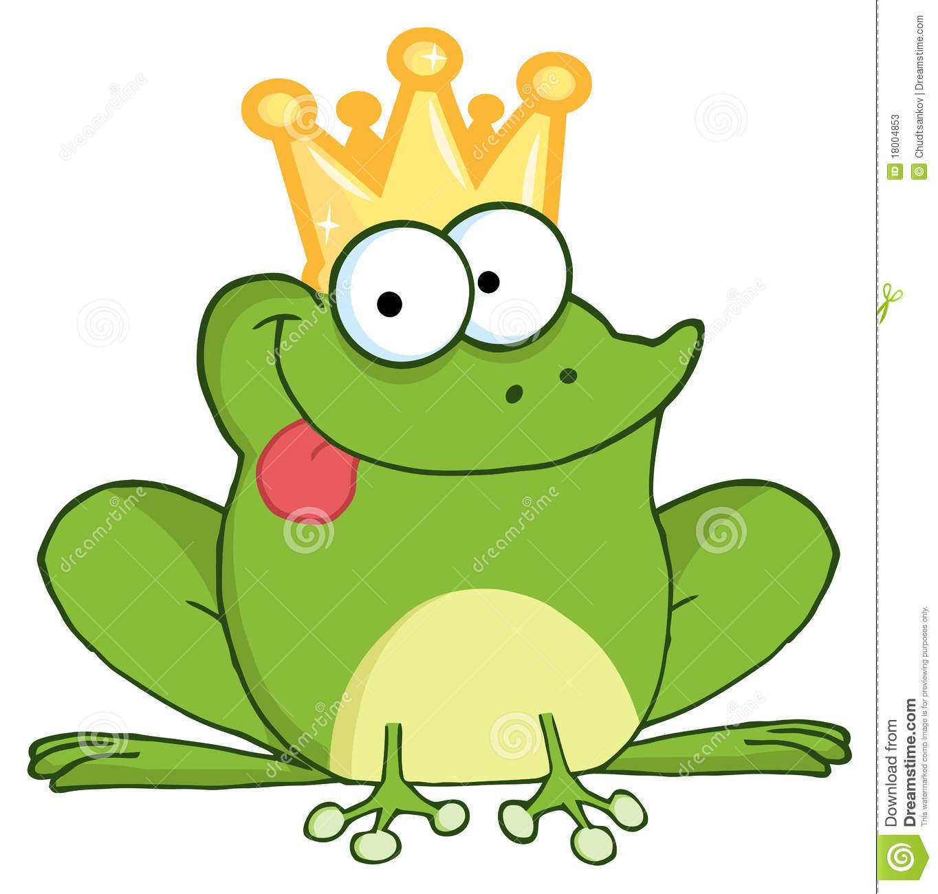 Frog Prince Stock Illustrations.
