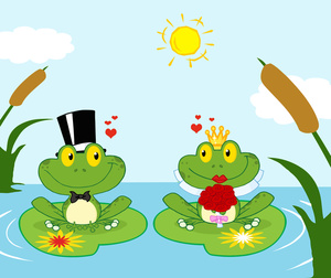 Frogs Clipart Image.