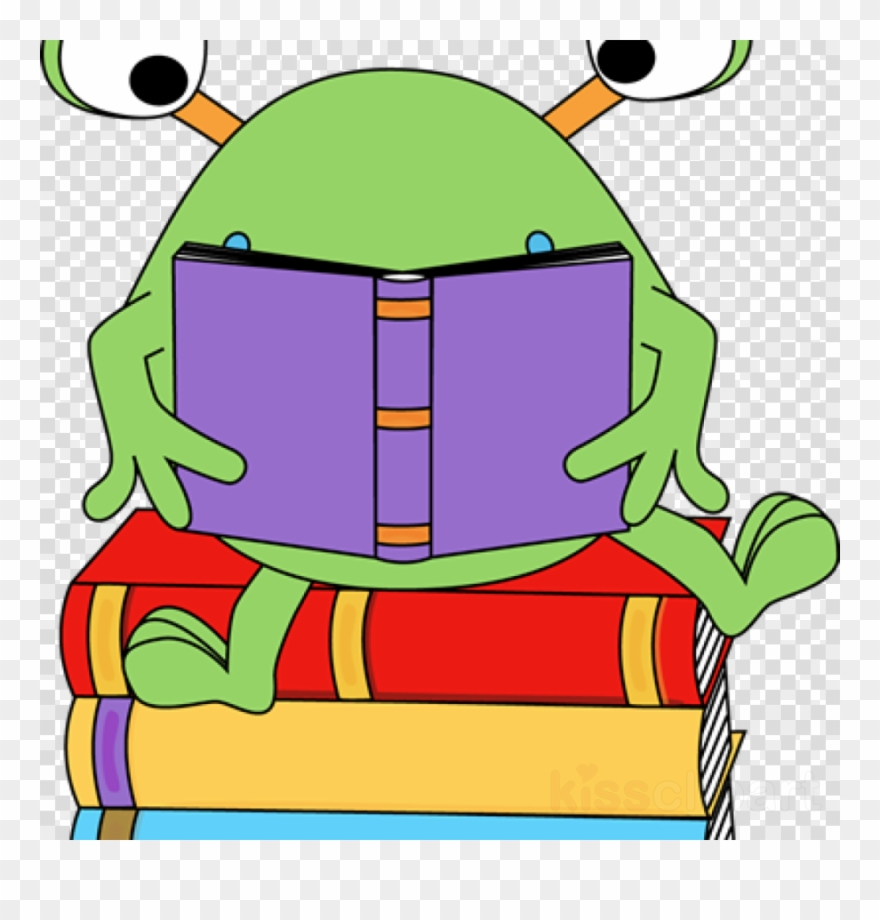 Download Frog Reading Clipart Clip Art Reading Book.