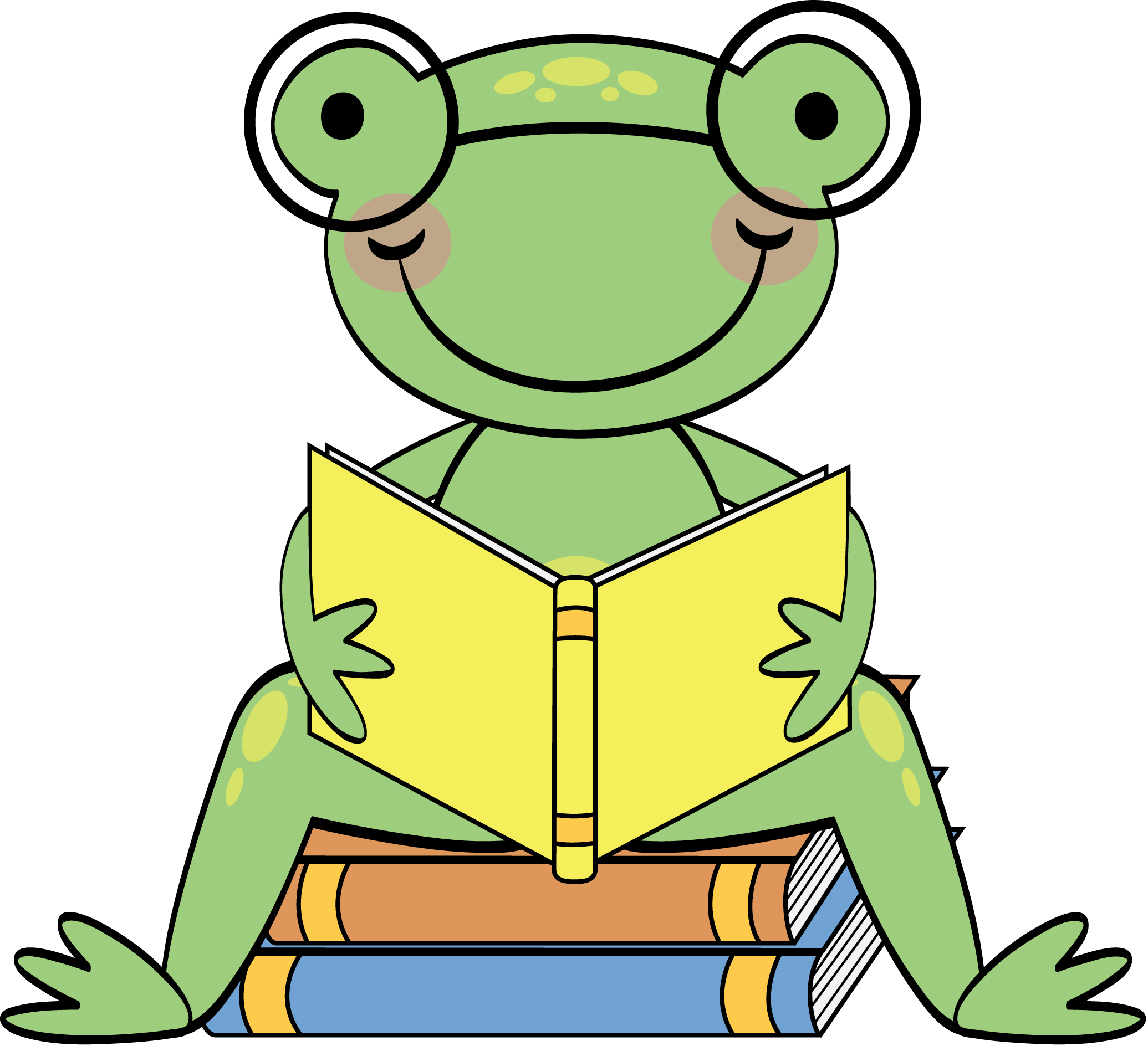 Clipart school frog, Clipart school frog Transparent FREE.