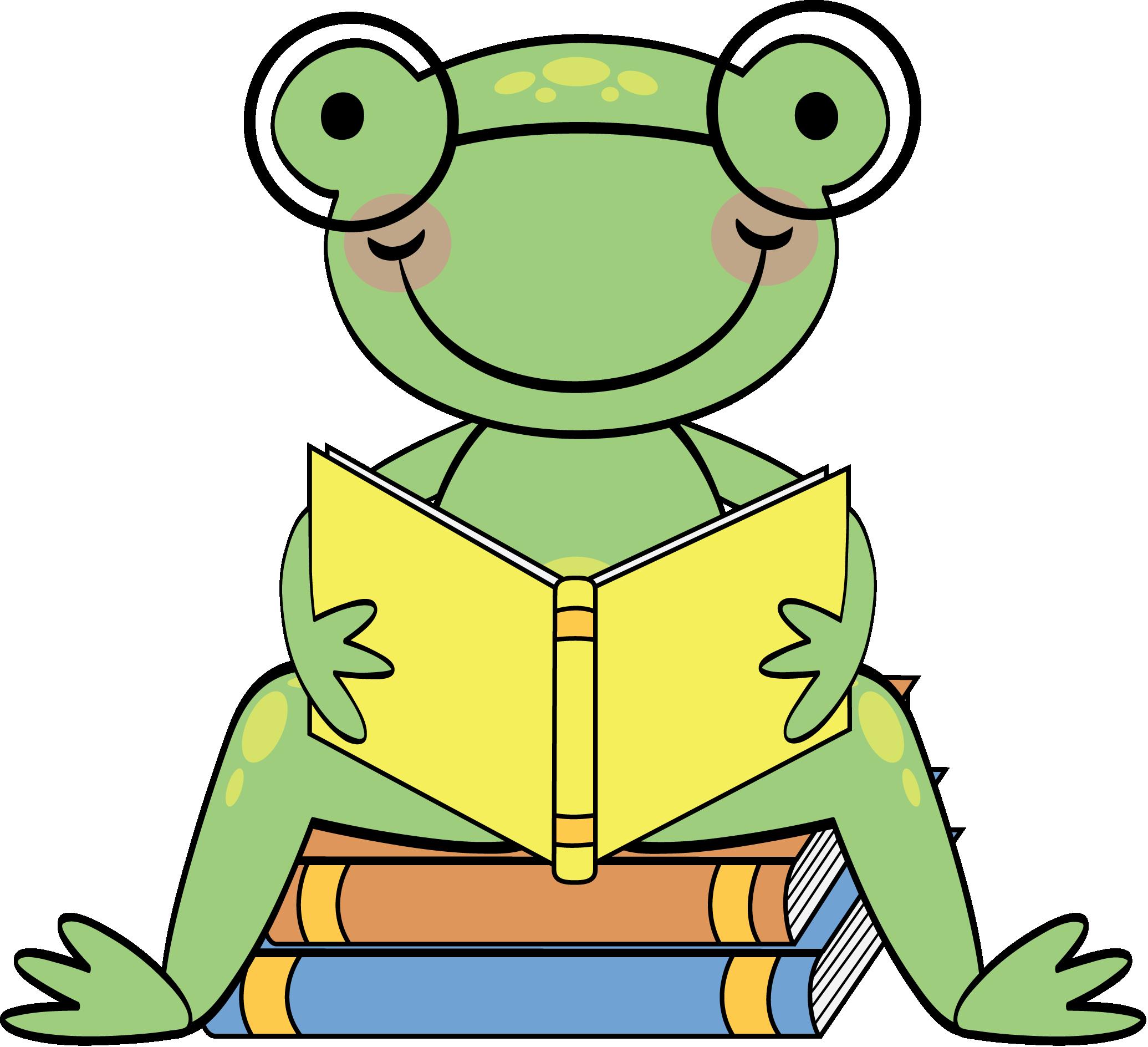 Clipart school frog, Clipart school frog Transparent FREE.