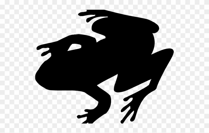 Toad Clipart Silhouette.