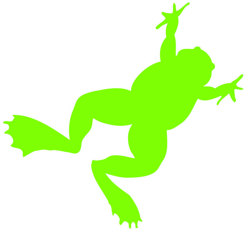 Free Frog Silhouette, Download Free Clip Art, Free Clip Art.