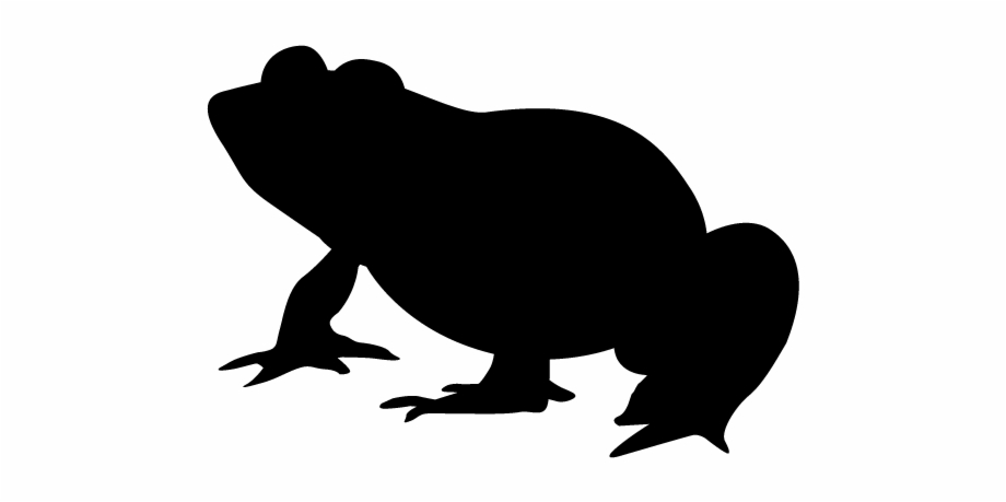 Frog Silhouette Animals Illustration Frog Silhouette.