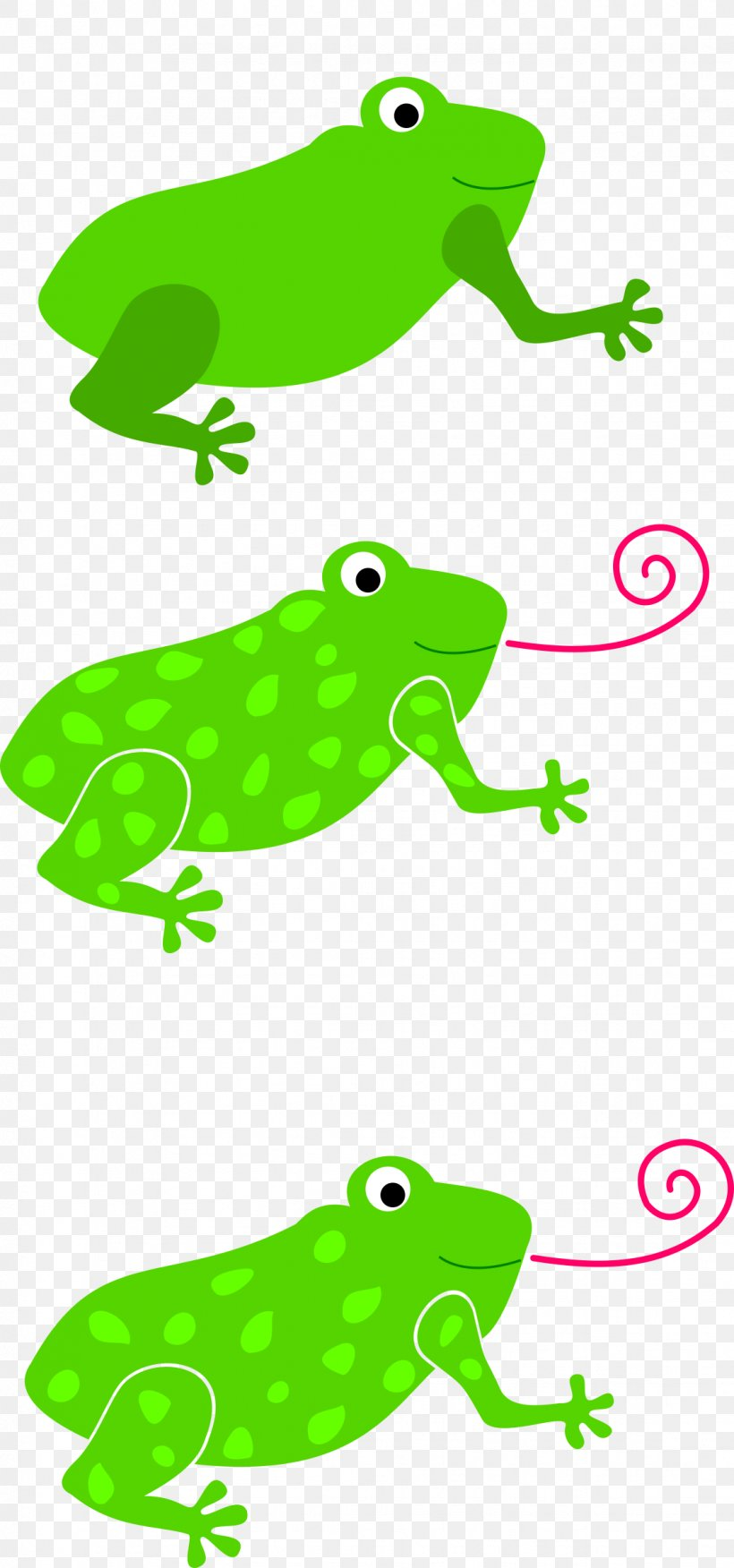 Tree Frog Tongue Toad Clip Art, PNG, 1123x2400px, Frog.