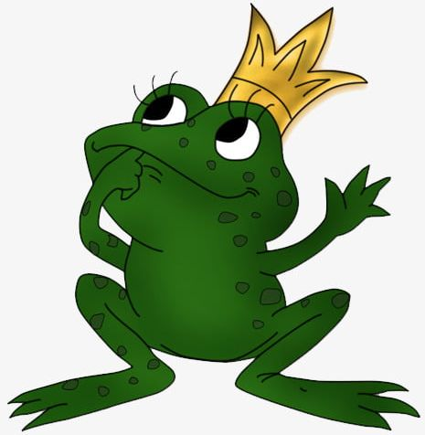 Frog Wearing A Crown PNG, Clipart, Animal, Crown, Crown.