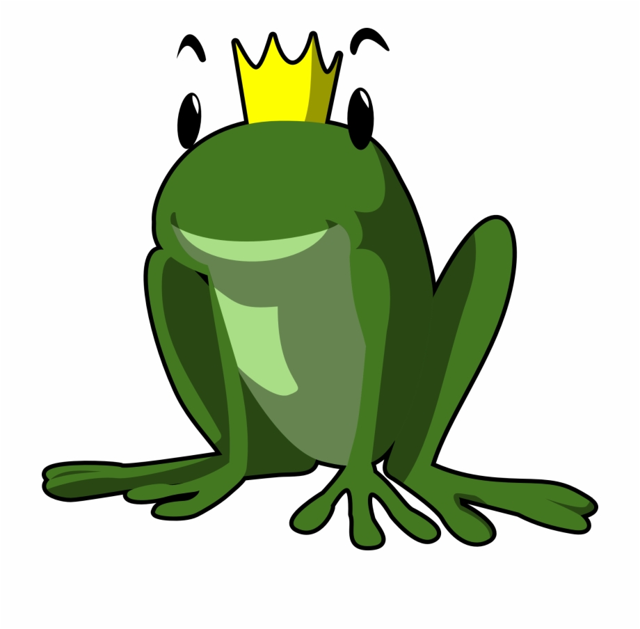 Frog With Crown.