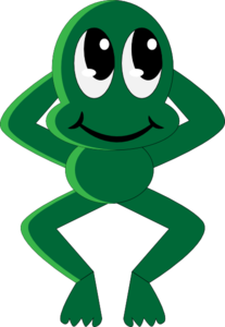 Froggy Clip Art at Clker.com.