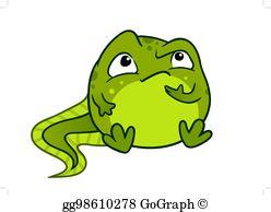 Froglet Clip Art.