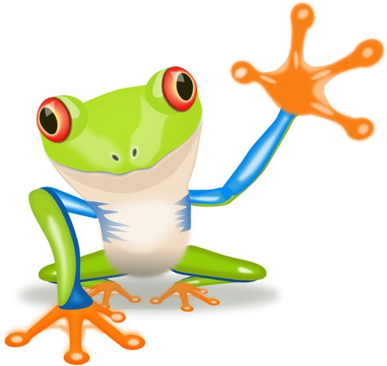frogs clip art.