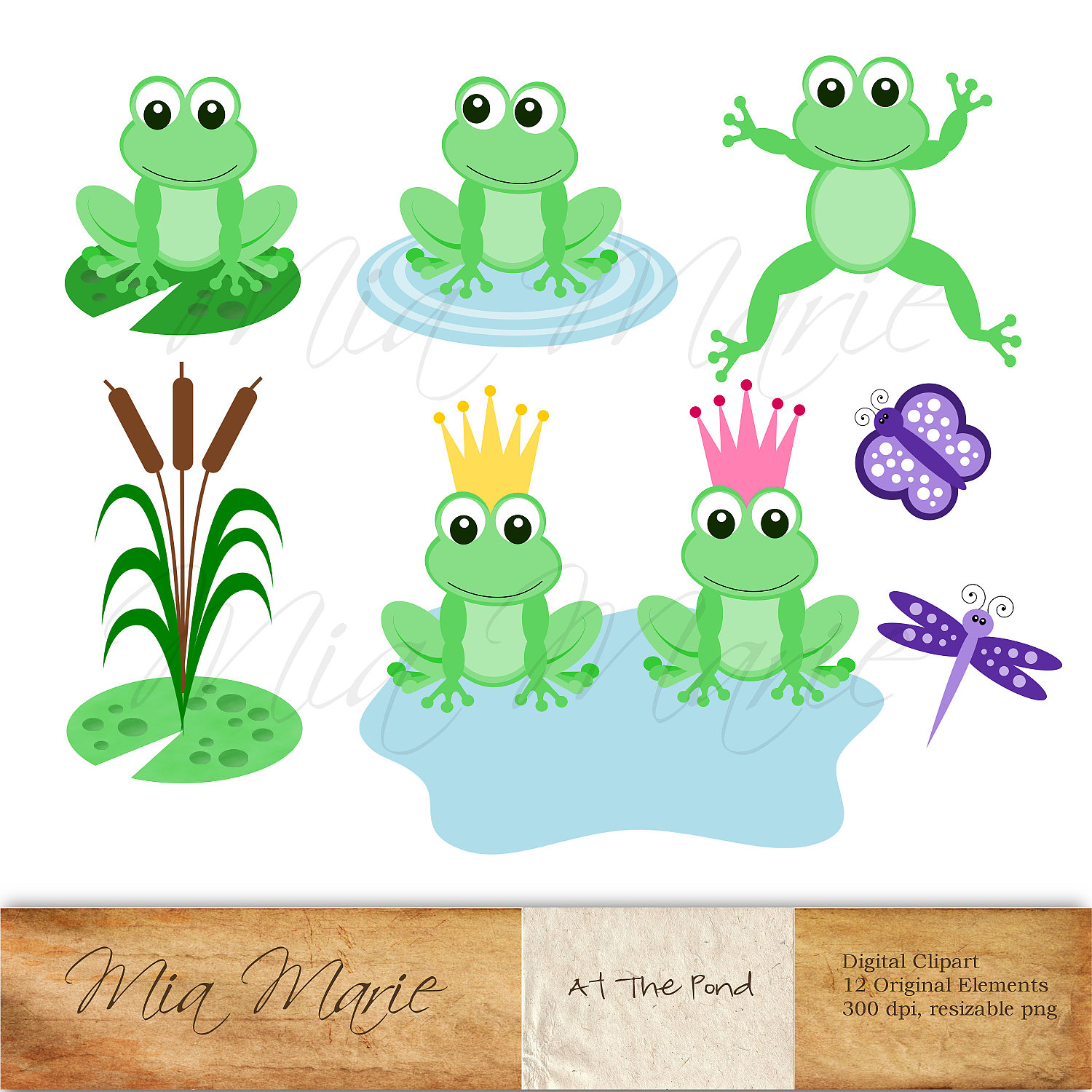 Frog Free Printable Clipart.