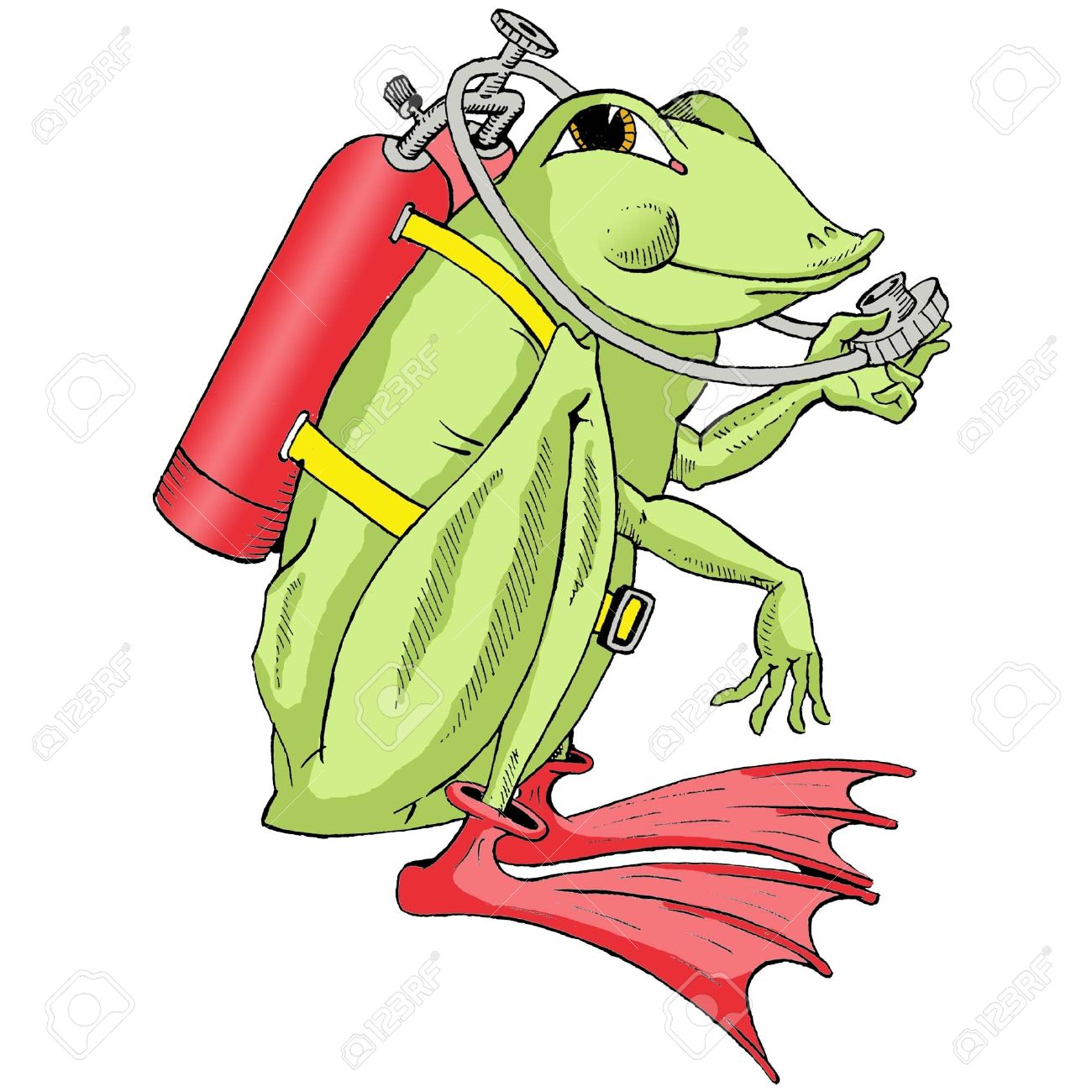 Frogman Royalty Free Cliparts, Vectors, And Stock Illustration.