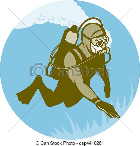 Frogman Illustrations and Clip Art. 120 Frogman royalty free.