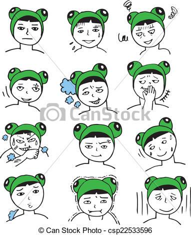 Frogman clipart.