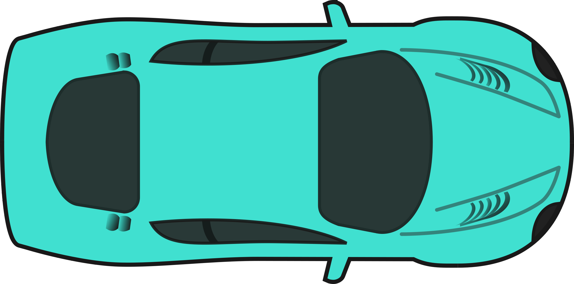 Car from above clipart.