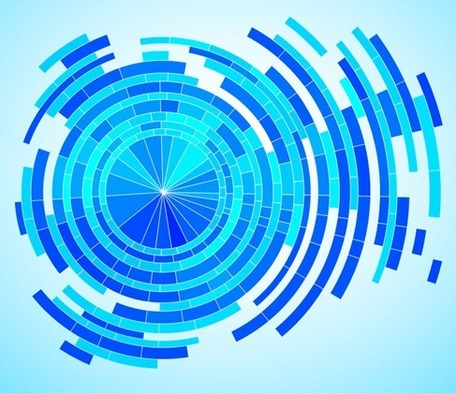 Blue abstract clipart hd.