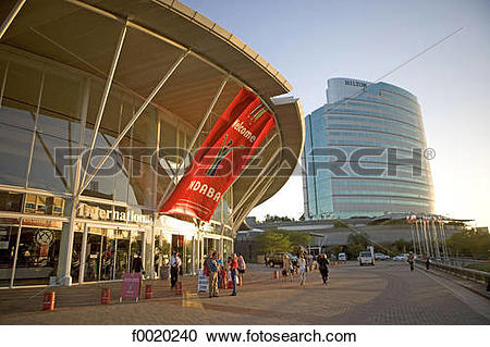 Stock Photography of South Africa, Durban, conference center and.