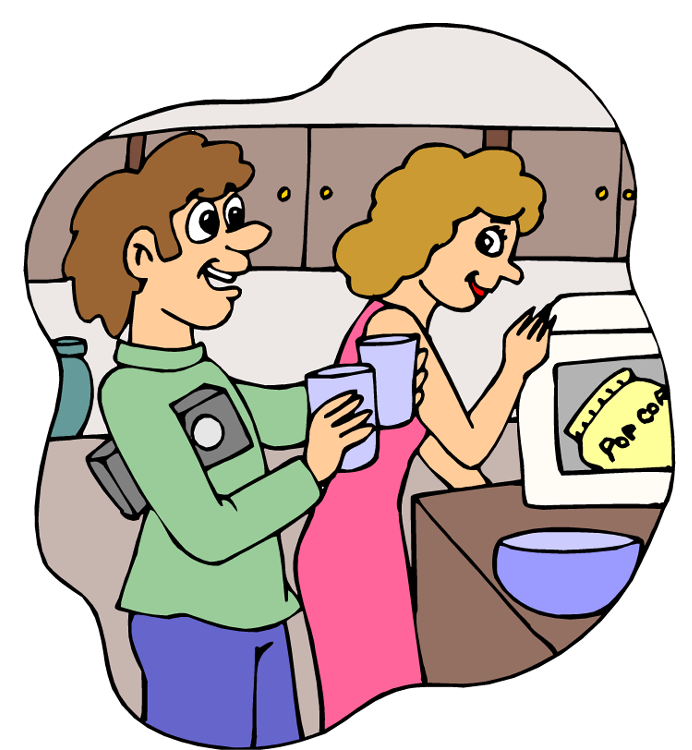 Love Each Other Cartoon: Helping Other People Clipart