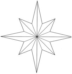Clipart eight point star.