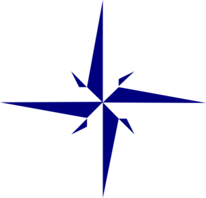8 pointed star clipart.